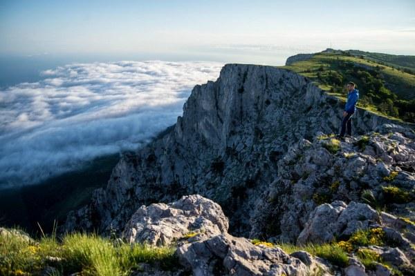 Гора в Крыму.
