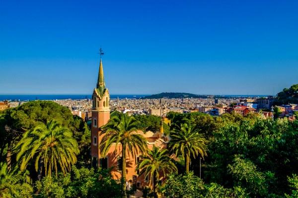 Барселона в июне 2020 года.