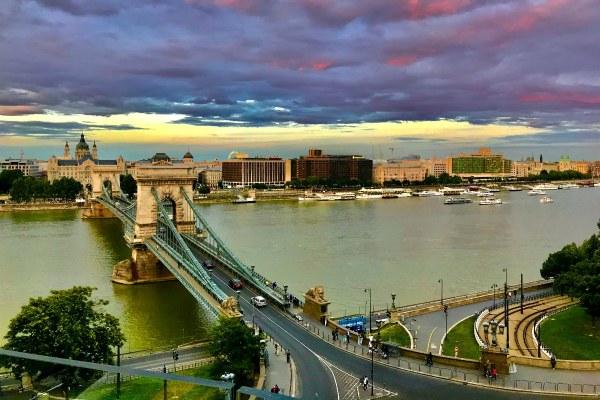 Будапешт в июле 2020.