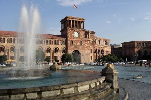Ереван в июне 2020.