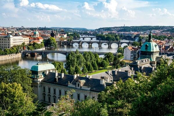 Лето 2020 в Праге.