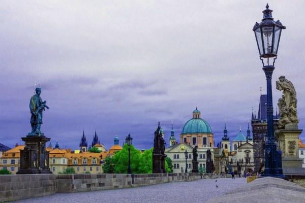 Прогулка по Праге.