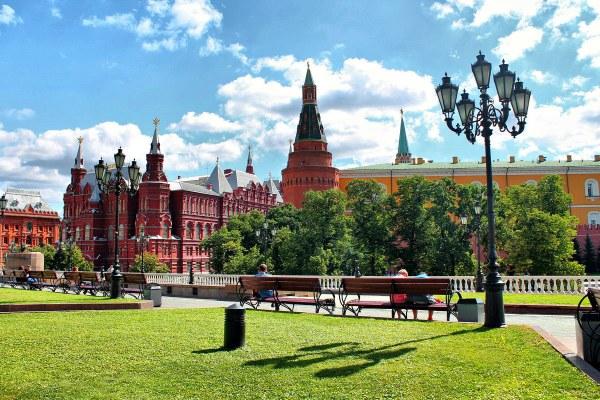 Москва летом 2020 года.