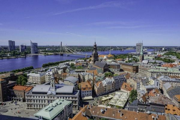 Лето 2020 в Латвии.