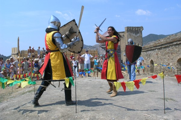 Рыцарский фестиваль.