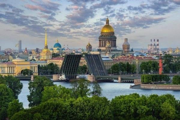 Лето 2020 в Петербурге.
