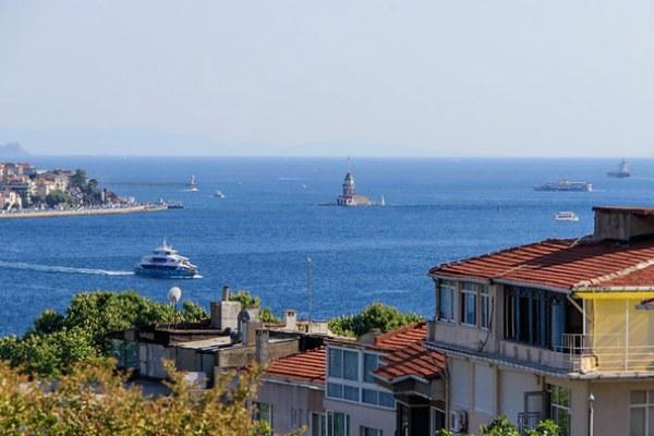 Лето 2021 в Стамбуле.