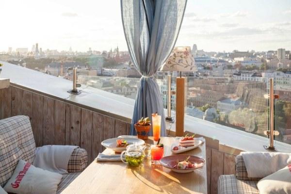 Панорамный ресторан.
