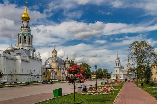 Вологда весной 2020.