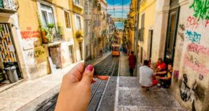 Улицы Лиссабона.