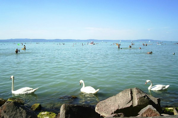 Озеро Балатон.