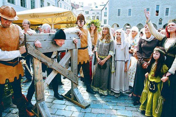 Таллинские дни средневековья.
