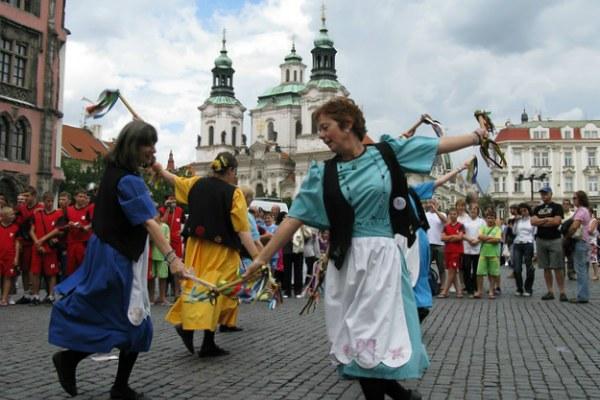 Prague Folklore Days.