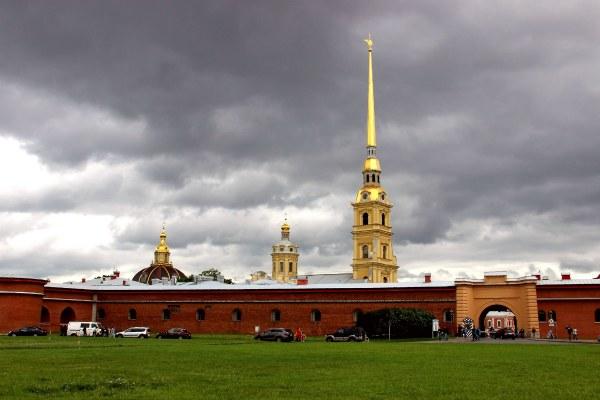 Крепости Петербурга.
