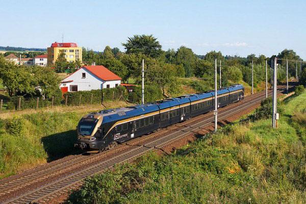 Поезд до Праги.