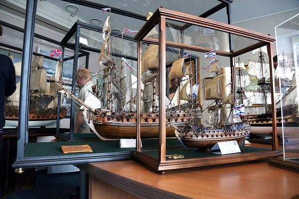 Выставки в музее мирового океана.