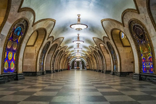 Столичное метро.