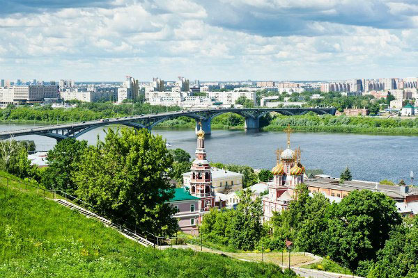 Лето 2021 в Нижнем Новгороде.