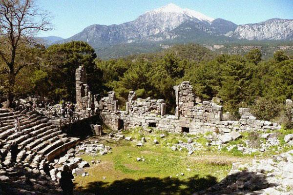 Античный город Фазелис.