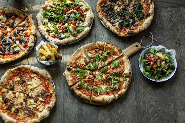 Пицца из Рима.