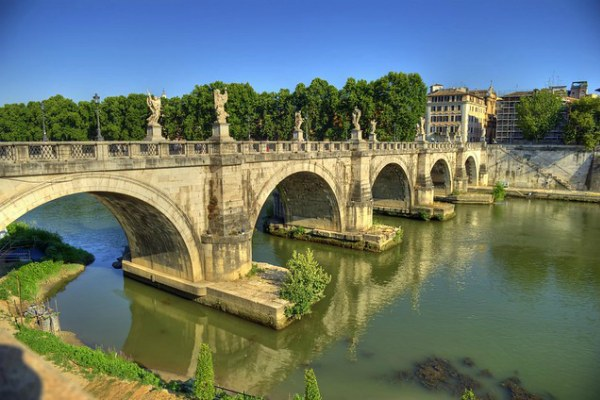 Лето 2020 в Риме.