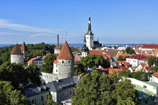 Таллин летом 2020 года.