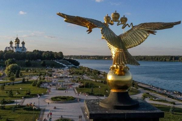 Лето 2019 в Ярославле.