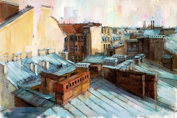 Экскурсии по крышам в Петербурге.