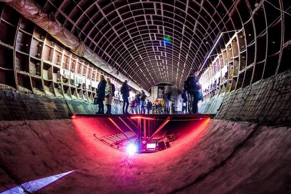 Подземный бункер в Москве.