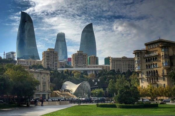 Осень 2019 в Баку.