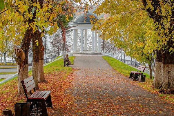Осень в Костроме.