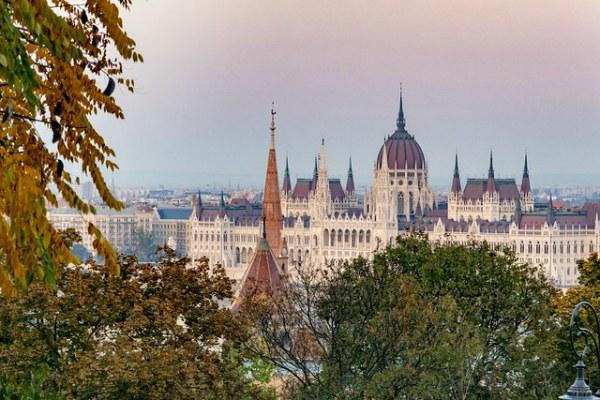 Осень 2019 в Будапеште.