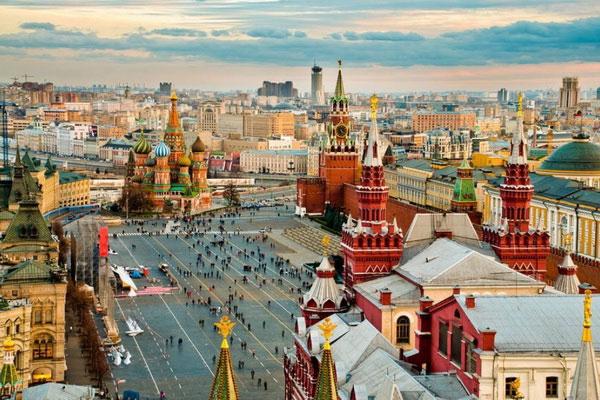 Прогулка по московским крышам.