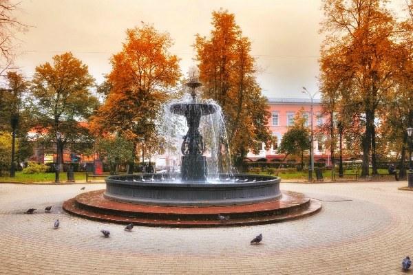 Осенний город.