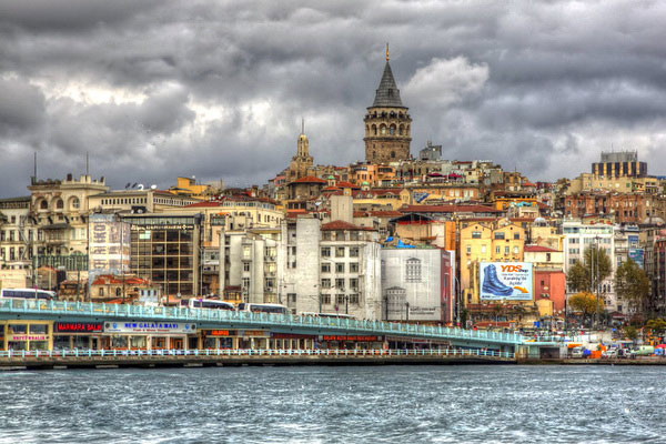 Осень 2021 в Стамбуле.