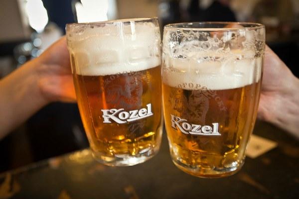 Пиво Козел.