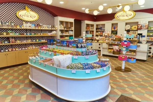 Магазин Крупской.