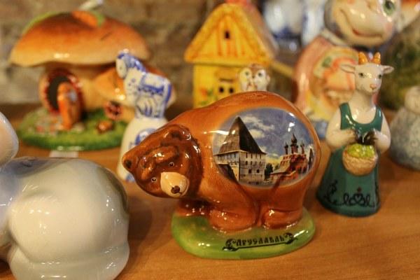 Сувениры из керамики.
