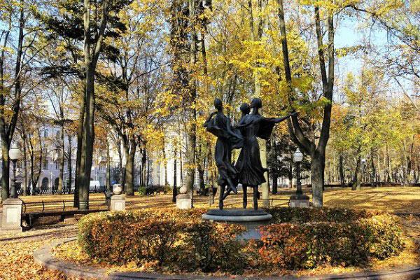 Минск в октябре 2010.
