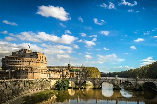 Октябрь 2010 в Риме.