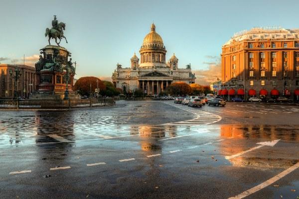 Ноябрь 2020 в Петербурге.