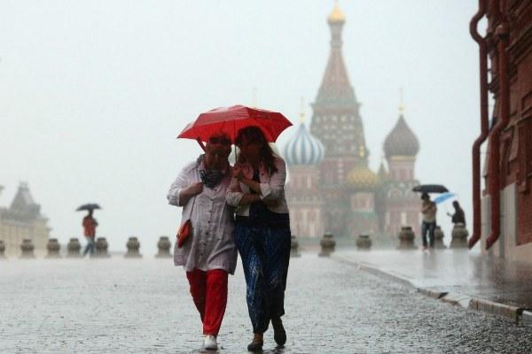 Дождливая погода.