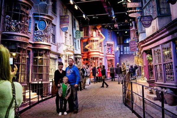 Гарри Поттер в Лондоне.