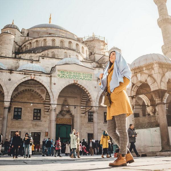 Мечеть в Стамбуле.