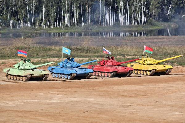 Танковые соревнования.