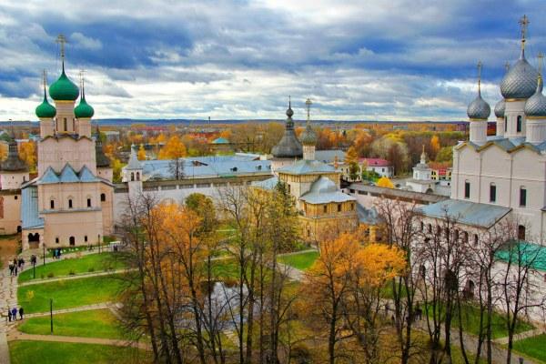 Осень в Ростове.