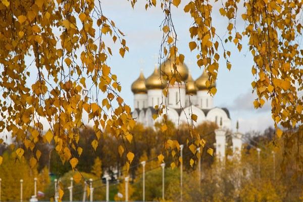Осень 2020 в Ярославле.