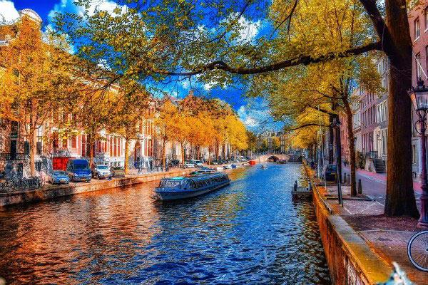 Осень 2019 в Амстердаме.