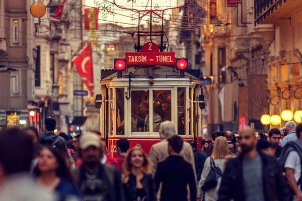 Стамбульский трамвай.