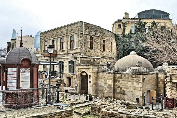 Улицы Баку в ноябре 2019 года.